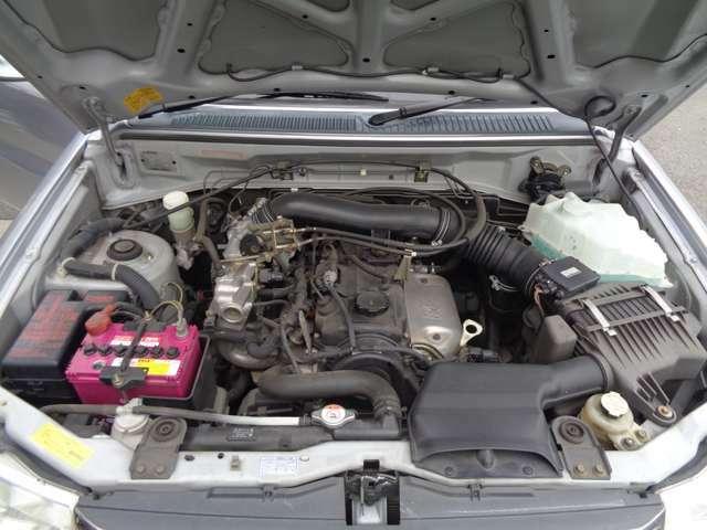 エンジン、ミッション好調です。