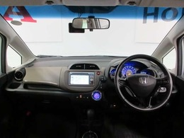 視界良好で、運転しやすい。