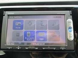 純正メモリーナビです。DVD/CD再生のほかにもワンセグTV、Bluetooth連携機能も装備されとっても便利です!