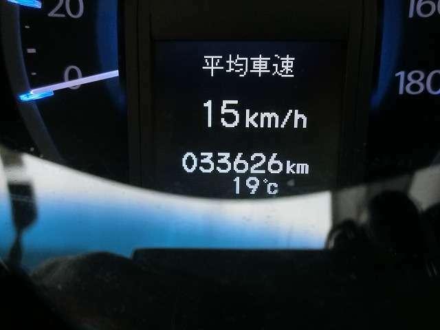 走行距離は33626KM
