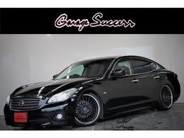 日産 フーガ 2.5 250GT 新SSR20AW車高調ハーフレザーサイド