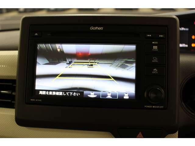 純正ディスプレイオーディオ(WX-211C) バックカメラ付で車庫入れや縦列駐車も楽々です。