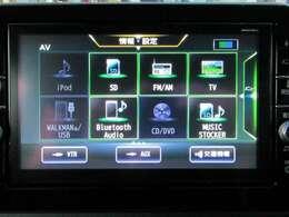 純正ナビ フルセグ DVD再生 CD録音 Bluetoothオーディオ♪