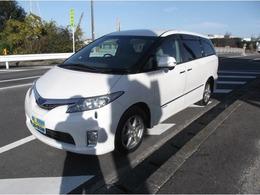 トヨタ エスティマハイブリッド 2.4 X サイドリフトアップシート装着車 4WD 車検令和4年7月/リフトアップシート