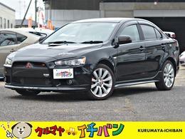 三菱 ギャランフォルティス 2.0 ラリーアート 4WD 夏冬タイヤ付 サビ無キレい HDDナビTV DVD