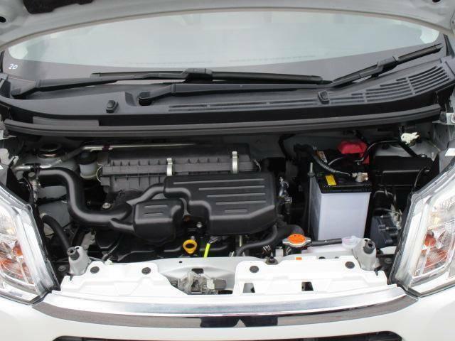 低燃費で、お財布にやさしい自動車です。