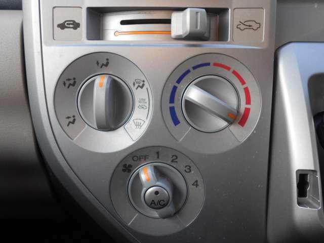 操作しやすい設計が自慢のダイヤル式マニュアルエアコンです♪