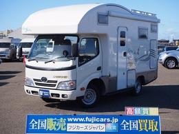 トヨタ カムロード バンテック コルドバンクス ディーゼル FFヒーター 2バーナーコンロ 液晶テレビ