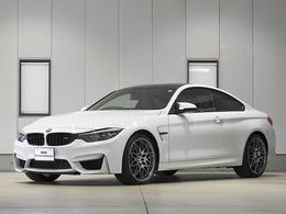 BMW M4クーペ コンペティション M DCT ドライブロジック 2年保証 鍛造20inアルミ 360度画像