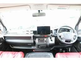 H30 ハイエース スーパーGL 4WD モデリスタマルチロールトランスポータータイプII 乗車定員5名 就寝定員目安3名 車両サイズ484cm×188cm×244cm ナビ ETC Bカメラ