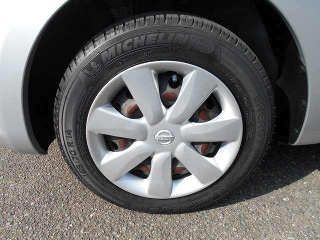 タイヤの溝も充分あります