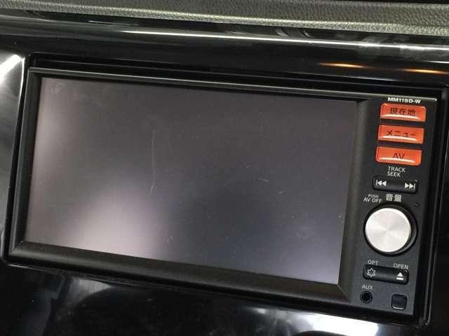 【純正メモリナビ】(MM115D-W)(CD/DVD/CD/DVD/Bluetooth/フルセグ)