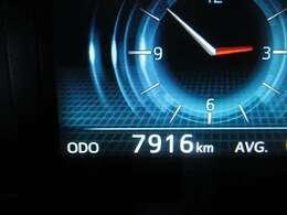 ◆現在の走行距離は7916Kmです、ご来店の際にはぜひご確認ください