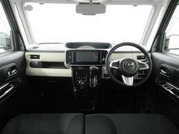 視界良好♪操作しやすい運転席です。