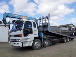 いすゞ トラック 6.5t スライドセルフ 3段クレーン ラジコン付 荷台内寸 L839 W249 H0