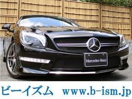 メルセデス・ベンツ SLクラス SL350 ブルーエフィシェンシー AMGスポーツパッケージ SL63スタイル AMG鍛造19インチ HDDナビ禁煙