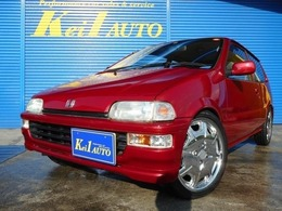 ホンダ トゥデイ ハミングX 旧車ラグジュアリー仕様同色全塗装済