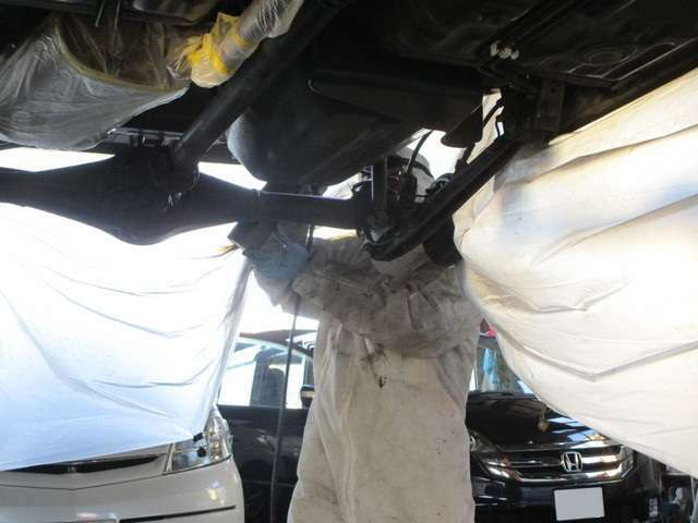 Bプラン画像:ノックスドール防錆加工です。普通のシャーシブラックよりも何倍も長持ちします!