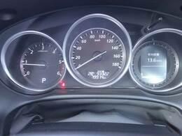 スポーティーで非常に見やすいスピードメーターです!