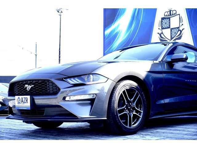 2020y フォード マスタング プレミアム エコブースト 入庫いたしました!人気色マグネティック!!