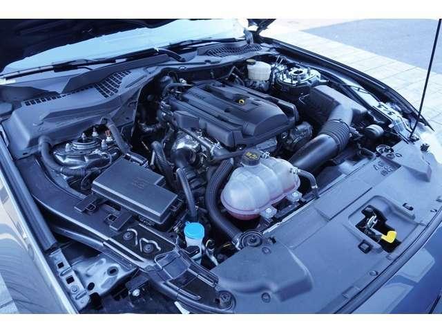2300cc 310馬力エコブーストエンジン は走りも十分楽しめます!経済的にも優しいエンジンで、走りも楽しめるエンジンです!!
