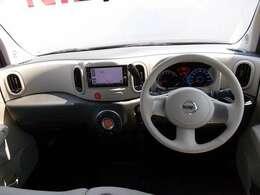 【エクステリア】なみなみのインパネデザインがかわいい!まるでお部屋のような車内。