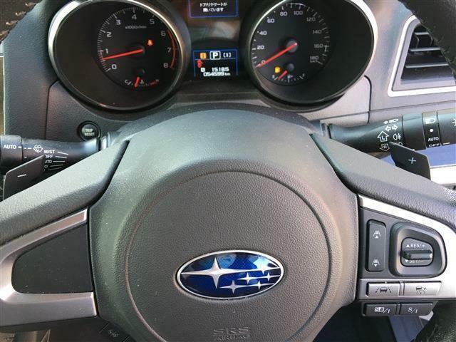 パドルシフトでスポーティーに運転も可能!
