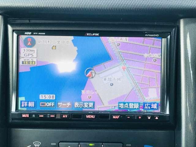 純正ナビ、ETC付!Bluetoothも接続可能なので、スマホに入ってる好きな音楽を車のスピーカーで聴きながら運転できます!