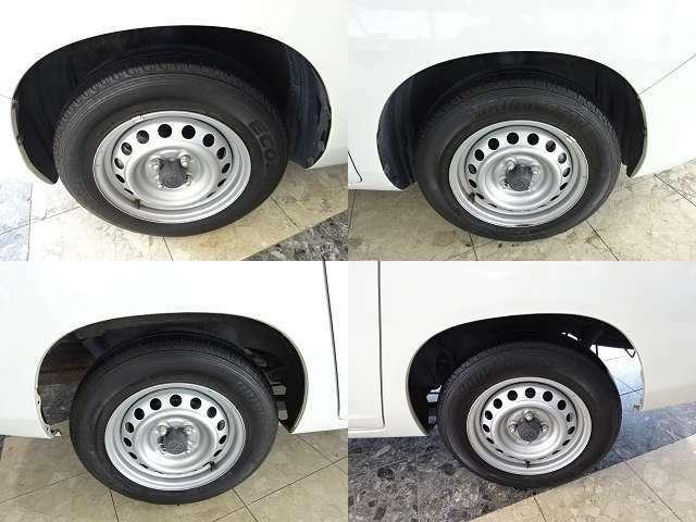 タイヤの状態を確認したら早速出発です。