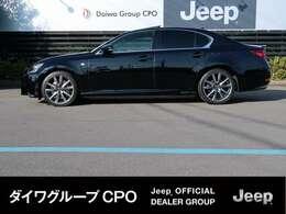 弊社グループ会社BMW正規販売代理店よりお下取りで入庫いたしました。「出どころがハッキリしている。」レクサス GS 350 F-Sport です。
