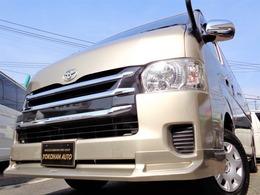 トヨタ ハイエース 2.7 グランドキャビン 4WD 4型6AT1オナ禁煙ナビTV電動ドアスマートLED