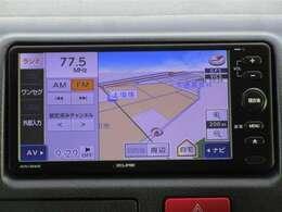 社外メモリーナビゲーション付き♪ワンセグTV・CD・AM・FMが視聴可能☆使い勝手も良く、操作も簡単です!お気に入りの選曲で、通勤・ドライブを快適にどうぞ♪