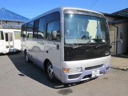 日産 シビリアン キャンピング ターボ 8NOバスコン普通免許NOXPM適合ターボ車