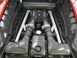 エンジン詳細⇒V型8気筒 排気量4300CC MAX出力510馬力/8500rpm  MAXトルク 48Kg・m/5250rpm カタログ値