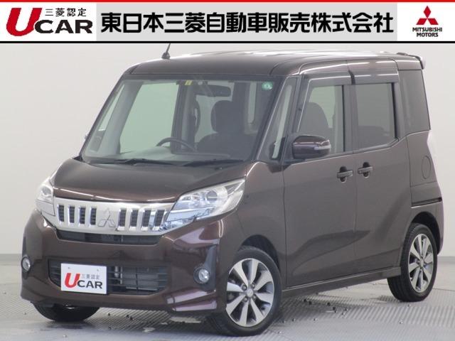 平成26年式(2014年) 三菱ekスペースカスタム グレードはT 2WD ターボエンジン 弊社下取り車入荷です♪