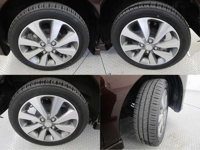 2021年製夏タイヤです。タイヤ溝も5mmほど残っております♪ タイヤサイズは165/55R15