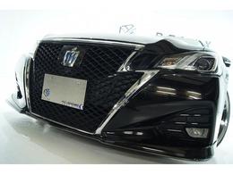 トヨタ クラウンアスリート ハイブリッド 2.5 S 新品バカンスエアロ新品アルミ新品車高調