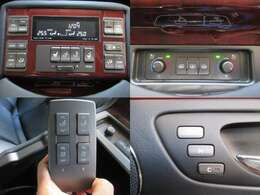後席専用エアコン/シートコンディション/マッサージ機能/オーディオコントローラー付☆
