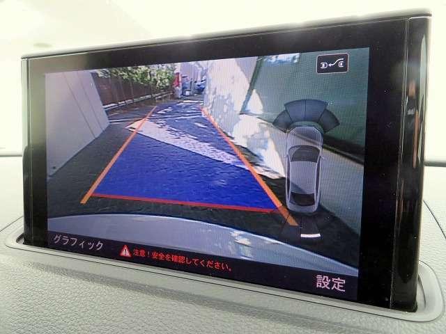 ◆駐車するときにバックガイドモニターを見ながら安心して駐車することが出来ます◆