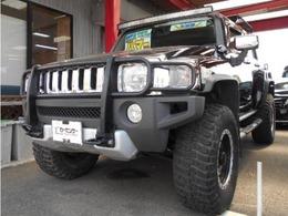 ハマー H3 3.7 4WD 黒革シート サンルーフ