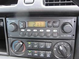 AM/FMラジオ、エアコン付きです!