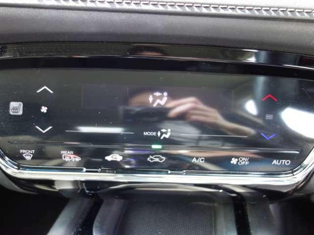 オートエアコンですので快適な温度を設定してくれます。