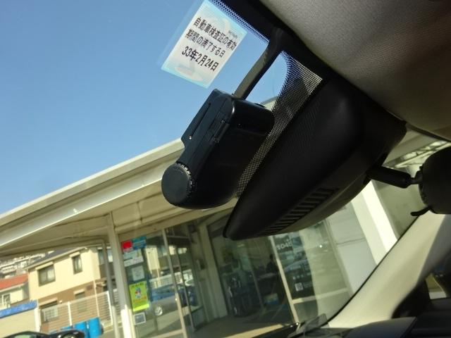 万が一の際にも安心のドライブれコーター付きです!