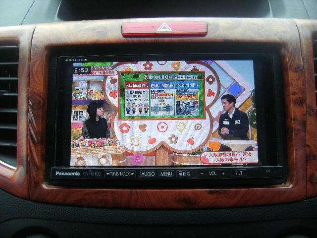 社外HDDナビ(DVD映像再生可能) フルセグTV CD