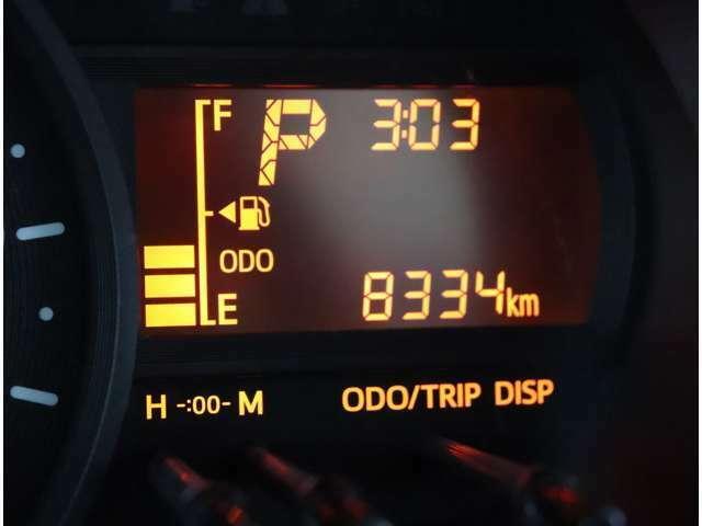 走行8334km