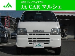 スズキ キャリイ 660 KU(パワーステアリング付) 3方開 4WD エアコンパワステ 4WDハイロー切替レバー