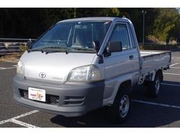 トヨタ タウンエーストラック 1.8 シングルジャストロー DX 木製デッキ 三方開 4WD 積載750Kg