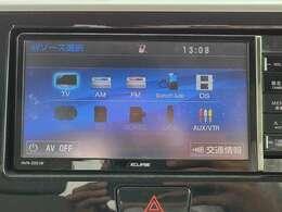DVD再生、iPod接続、Bluetooth、フルセグTV内蔵でナビとしての機能だけでなく、あなたのドライブを快適にサポートしてくれます♪