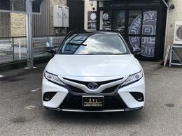 トヨタ カムリ 2.5 WS レザーパッケージ セーフティセンス Tコネクトナビ