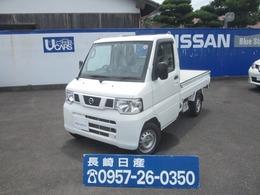 日産 クリッパートラック 660 DX 4WD 5速マニュアル/ワンオーナー/走行3.4万キロ